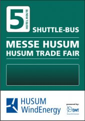 Messe Bushaltestelle